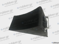 Truck Rubber chock (wedge)
